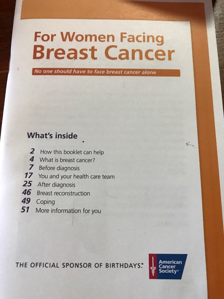 BREAST CANCER MESSAGE FROM STEVE 2