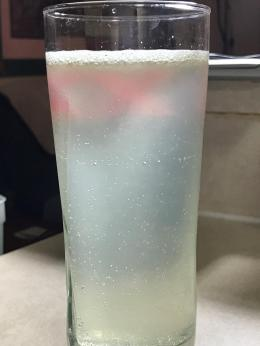 LEMON AND BAKING SODA WATER 2