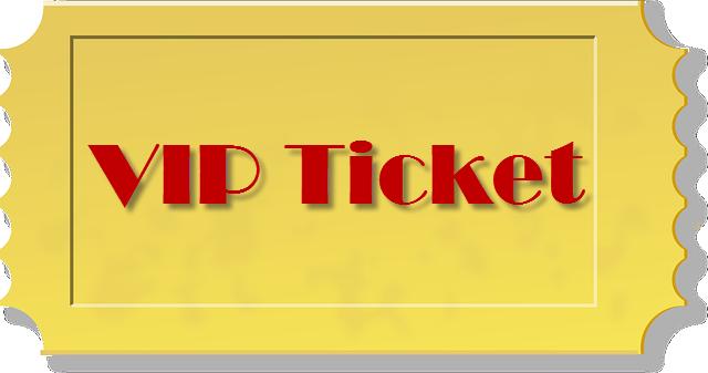 VIP TICKET NEON
