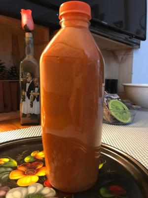 FANTA ORANGE SODA SALAD DRESSING 3