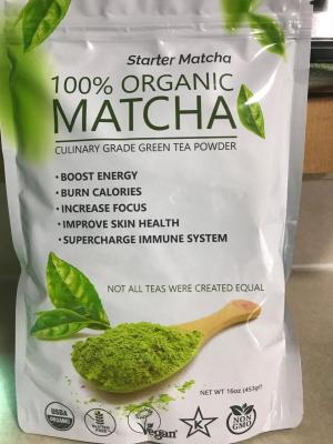 MATCHA ORGANIC GREEN TEA POWDER 1