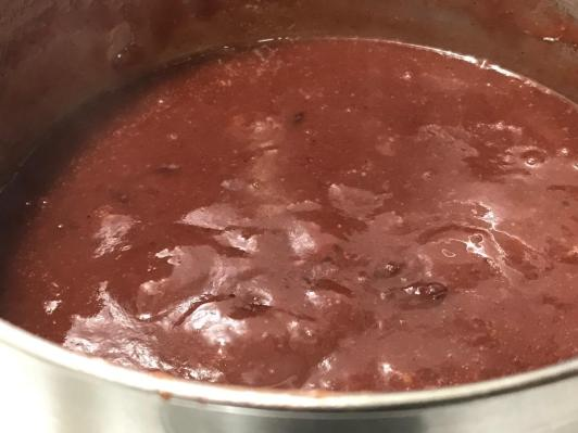 SMOKY CRANBERRY GRAVY 2