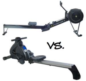 Air vs. Magnetic Rowing Machine: What is the Difference?