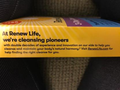 RENEW LIFE 3 DAY CLEANSE 2