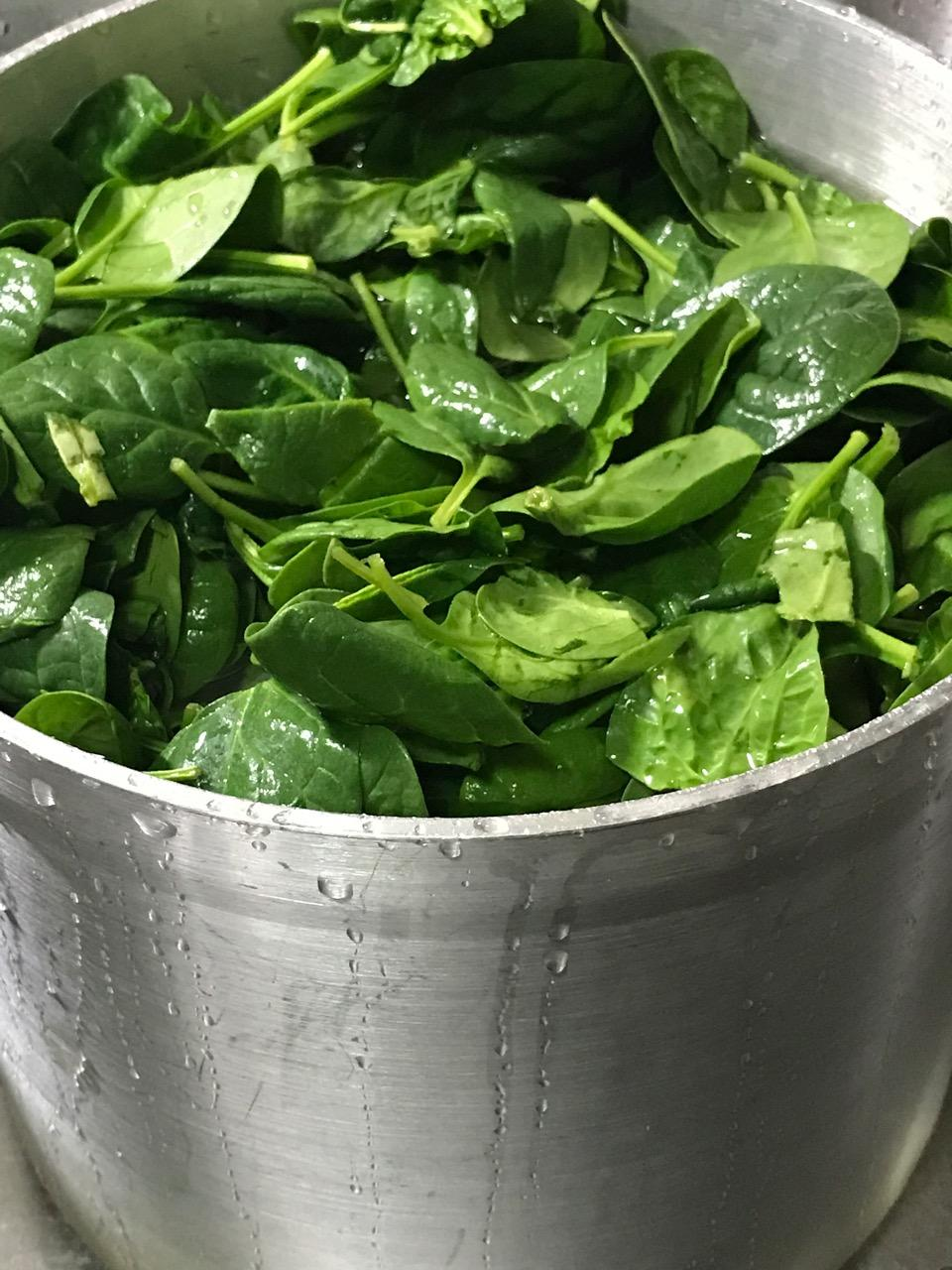 SPINACH WITH EVERYTHING 2