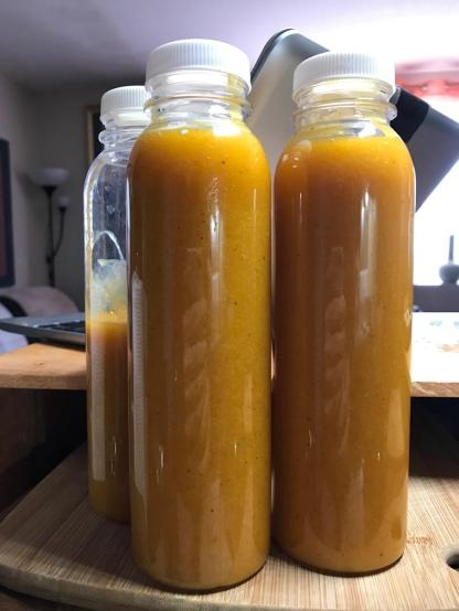 ORANGE SAFFRON GINGER BEER DRESSING 3